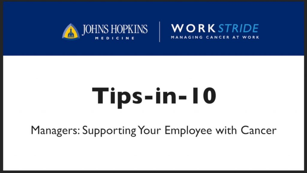 Tips-in-10: Managers Supporting Employees